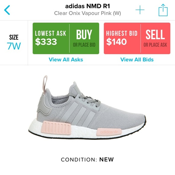 buy online 87d0a 852ae adidas Shoes - Adidas NMD R1 Clear Onix Vapour Pink❗️TODAY ONLY❗️